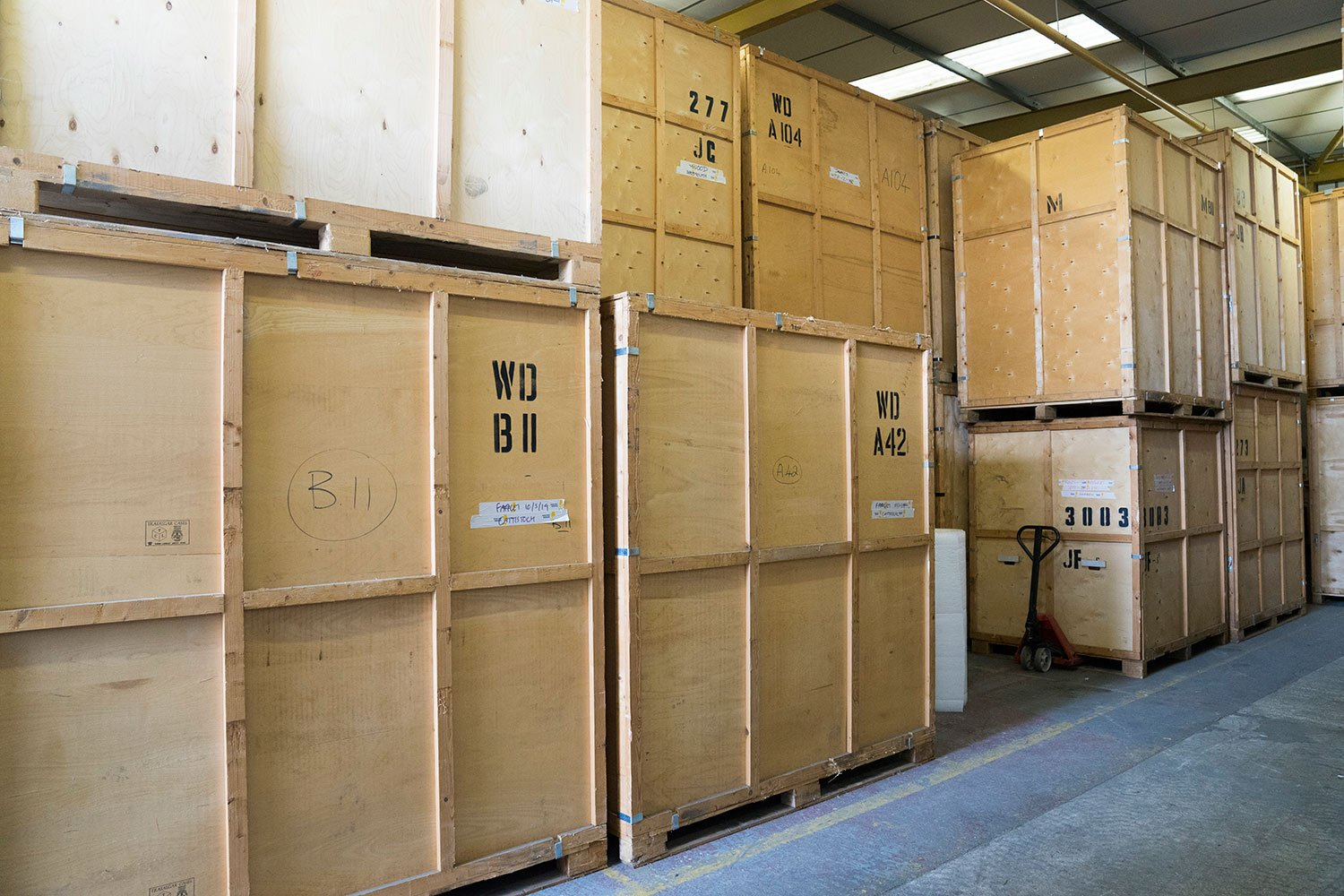 Using Self Storage in Dorset with Woods Removals