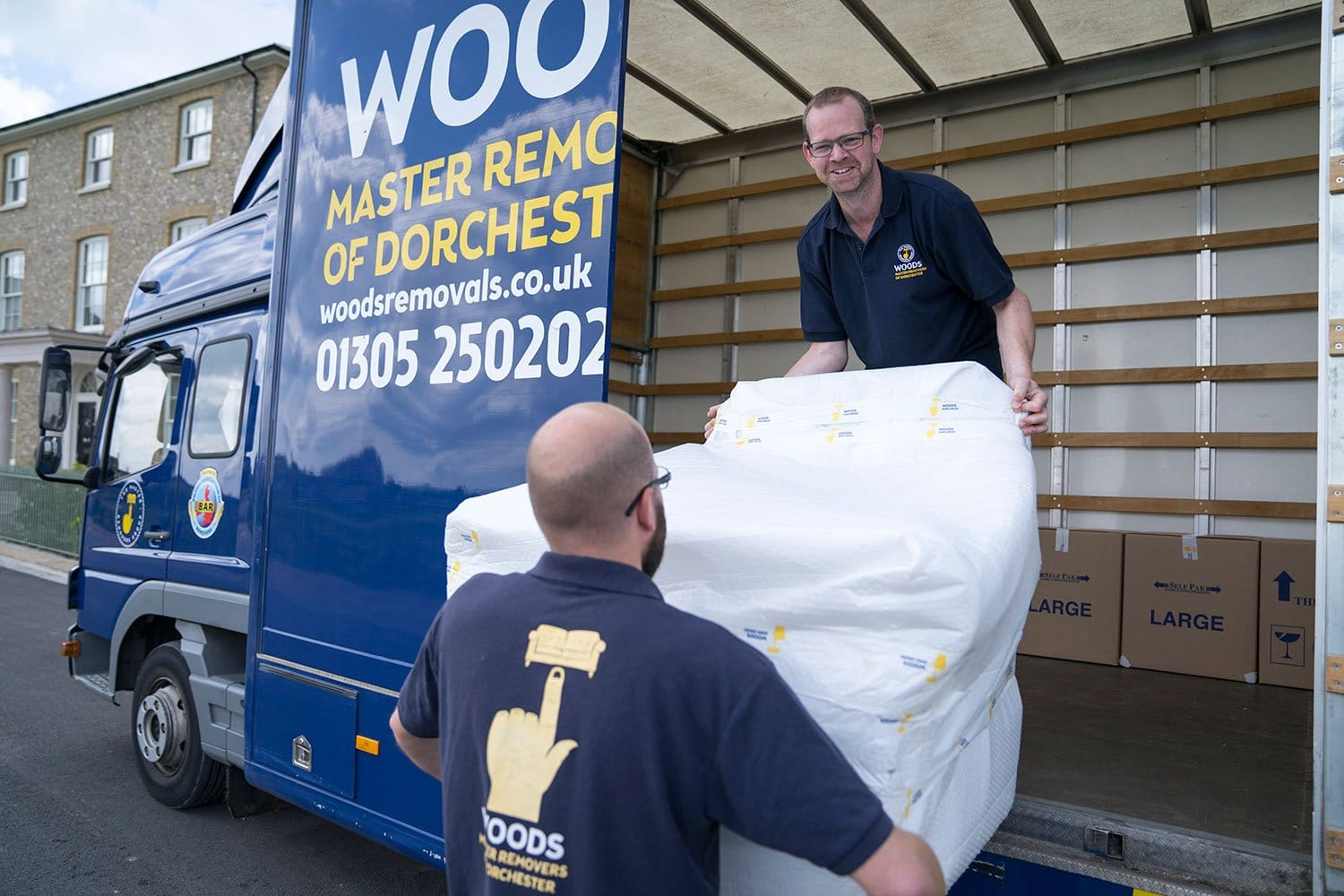 Man & Van and Storage Benefits for Small Businesses in Dorset