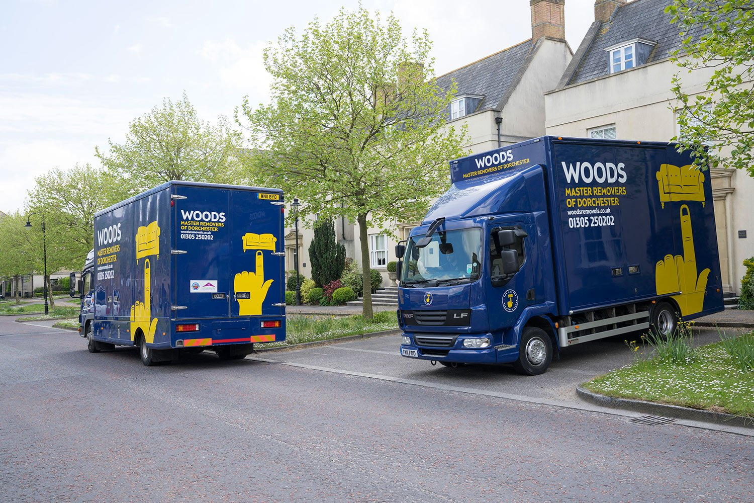 Home Removals in Dorset – Four Bedroom Properties or Larger